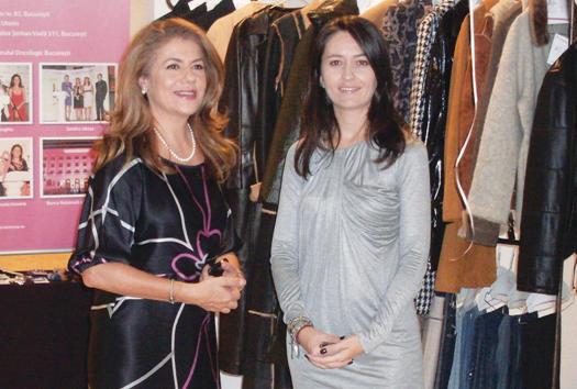 Inaugurare New Life Boutique - Mihaela Geoană si Amalia Năstase