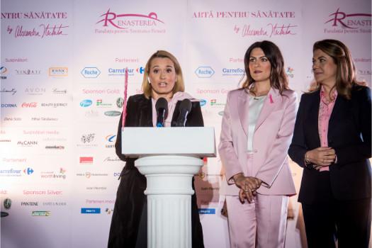 Andreea Esca, Alexandra Nechita, Mihaela Geoană