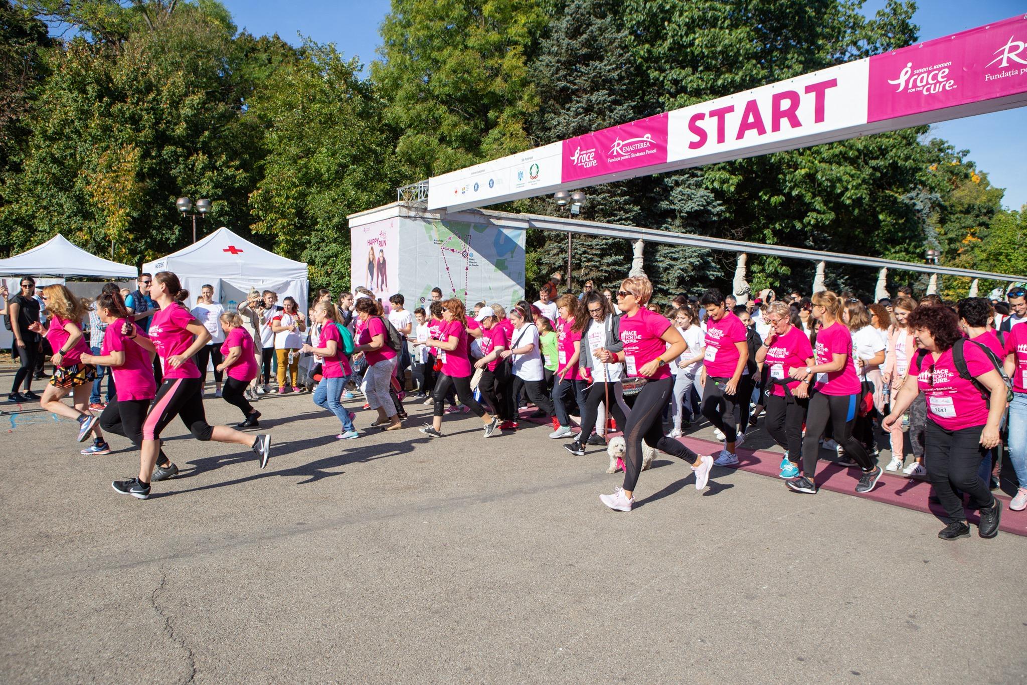 Start Invingatoare in lupta cu cancerul